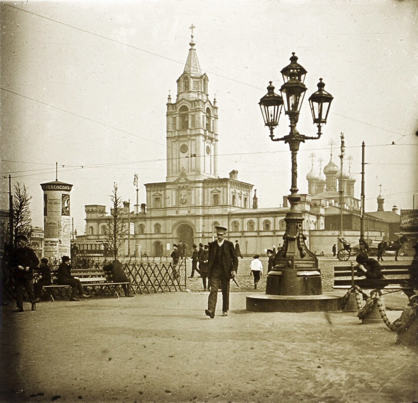 Страстная площадь. 1913