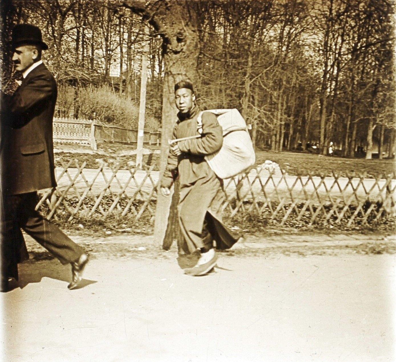 Китаец в Сокольниках. 1910-е