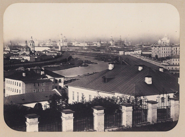 Вид со Вшивой горки. 1865