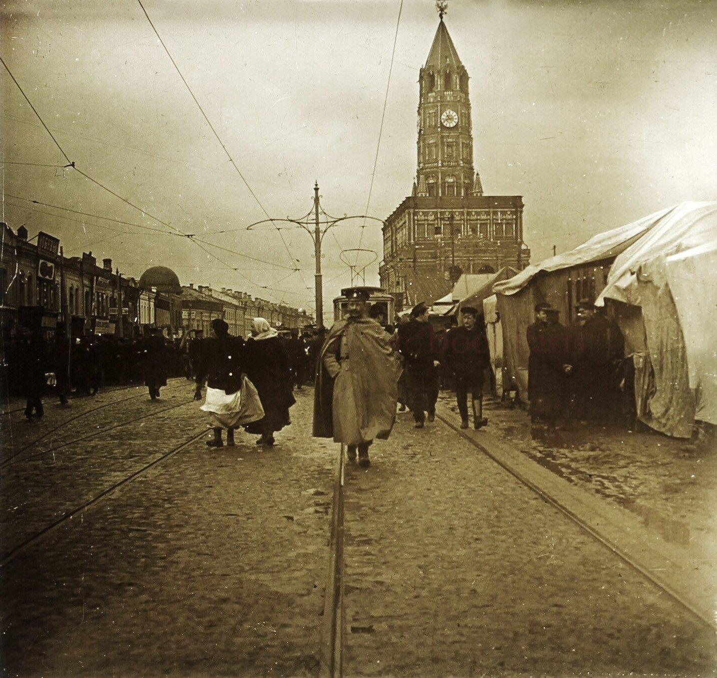 Большая Сухаревская площадь. 1913