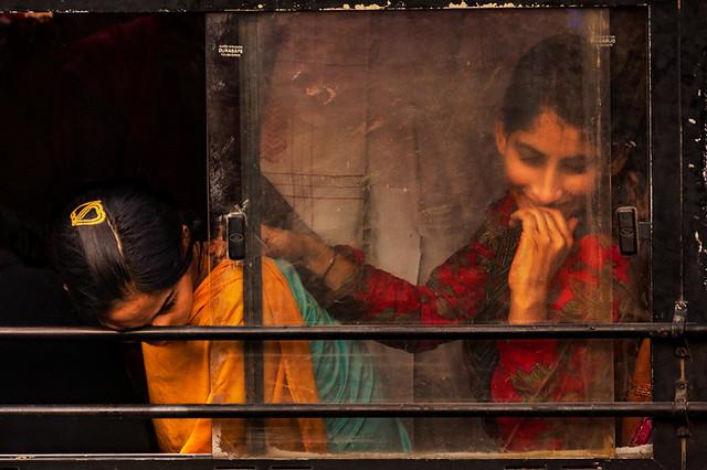 Travellers. Jaipur. Rajasthan. India.