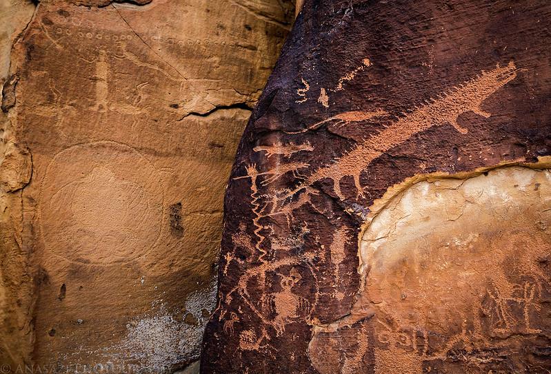 Corner Petroglyphs