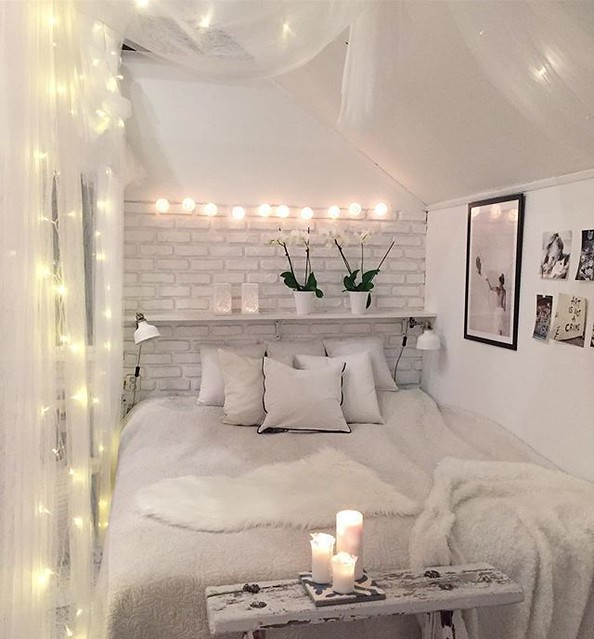 Bedroom Decor White Bedroom Decor Small Bedroom Idea Roman Flickr
