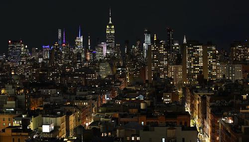 nyc newyork newyorkcity nightshot empirestatebuidling roofs soho midtown nikon d850 usa