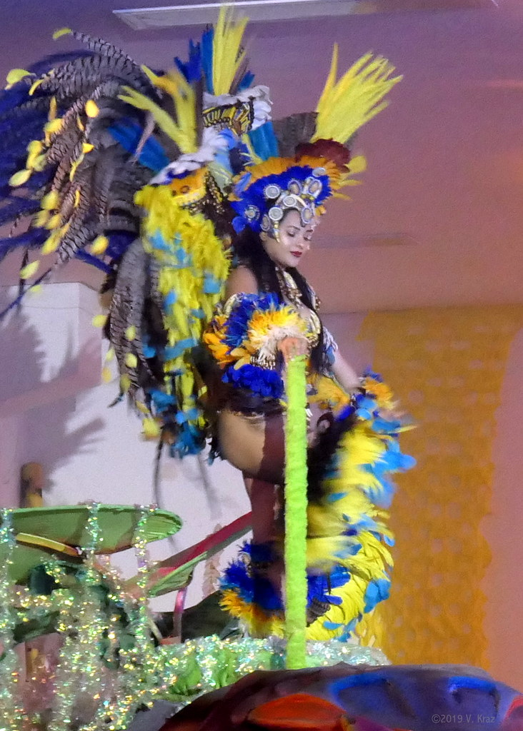 Performance for Tourists, Parintins, Brazil