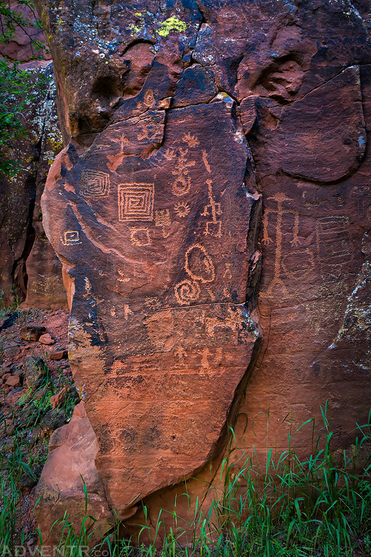 Right Side Petroglyphs