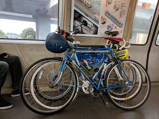 Bikes on the BART