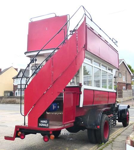 DFB 704D 'London General Omnibus Company'. AEC 'B' type /4 on Dennis Basford's railsroadsrunways.blogspot.co.uk