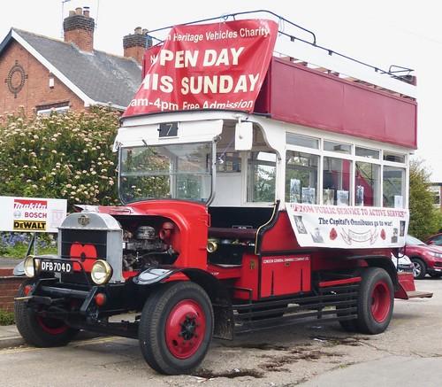 DFB 704D 'London General Omnibus Company'. AEC 'B' type /1 on Dennis Basford's railsroadsrunways.blogspot.co.uk