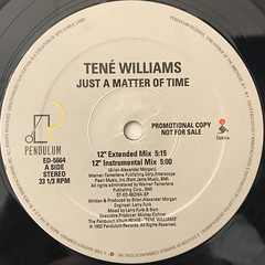 TENE WILLIAMS:JUST A MATTER OF TIME(LABEL SIDE-A)