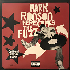 MARK RONSON:HERE COMES THE FUZZ(JACKET A)