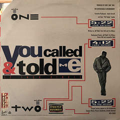 JEFF REDD:YOU CALLED & TOLD ME(JACKET B)
