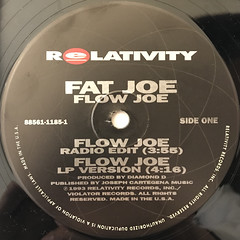 FAT JOE:FLOW JOE(LABEL SIDE-A)