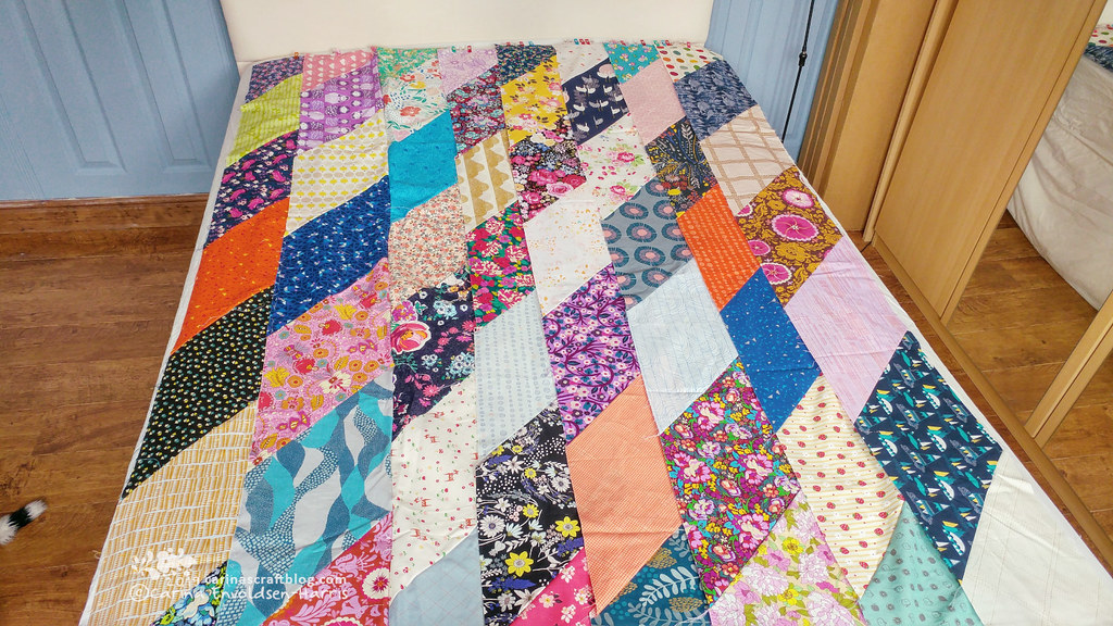 Fat Eighth Frenzy quilt top