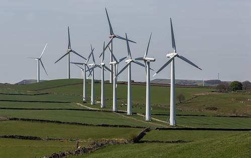 windturbines windfarm