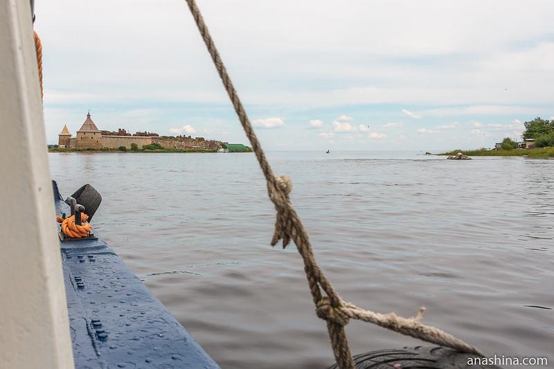 Крепость Орешек, Шлиссельбург, Ладожское озеро