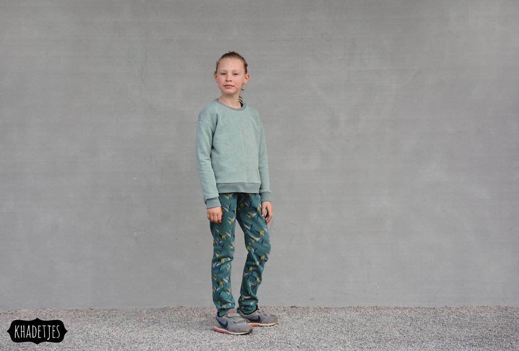 645-03 Jasmine broek Emma sweater Khadetjes