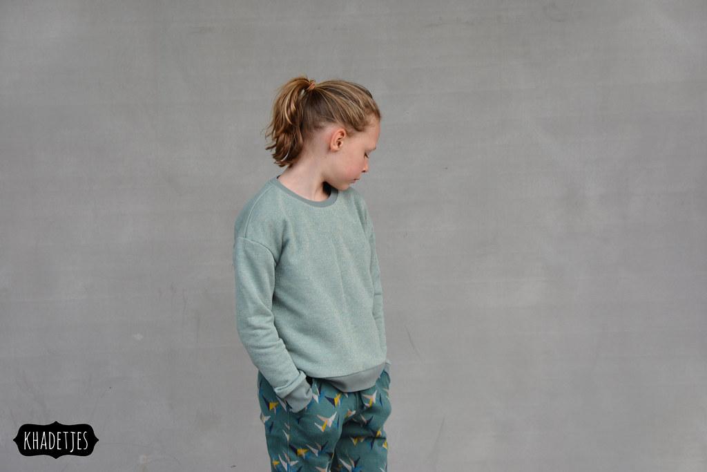 645-01 Jasmine broek Emma sweater Khadetjes