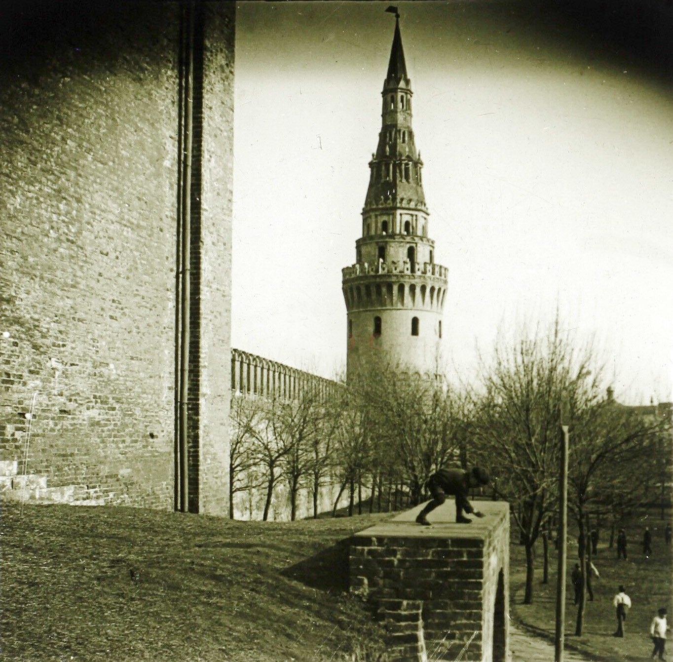 Нижний Александровский сад. 1913