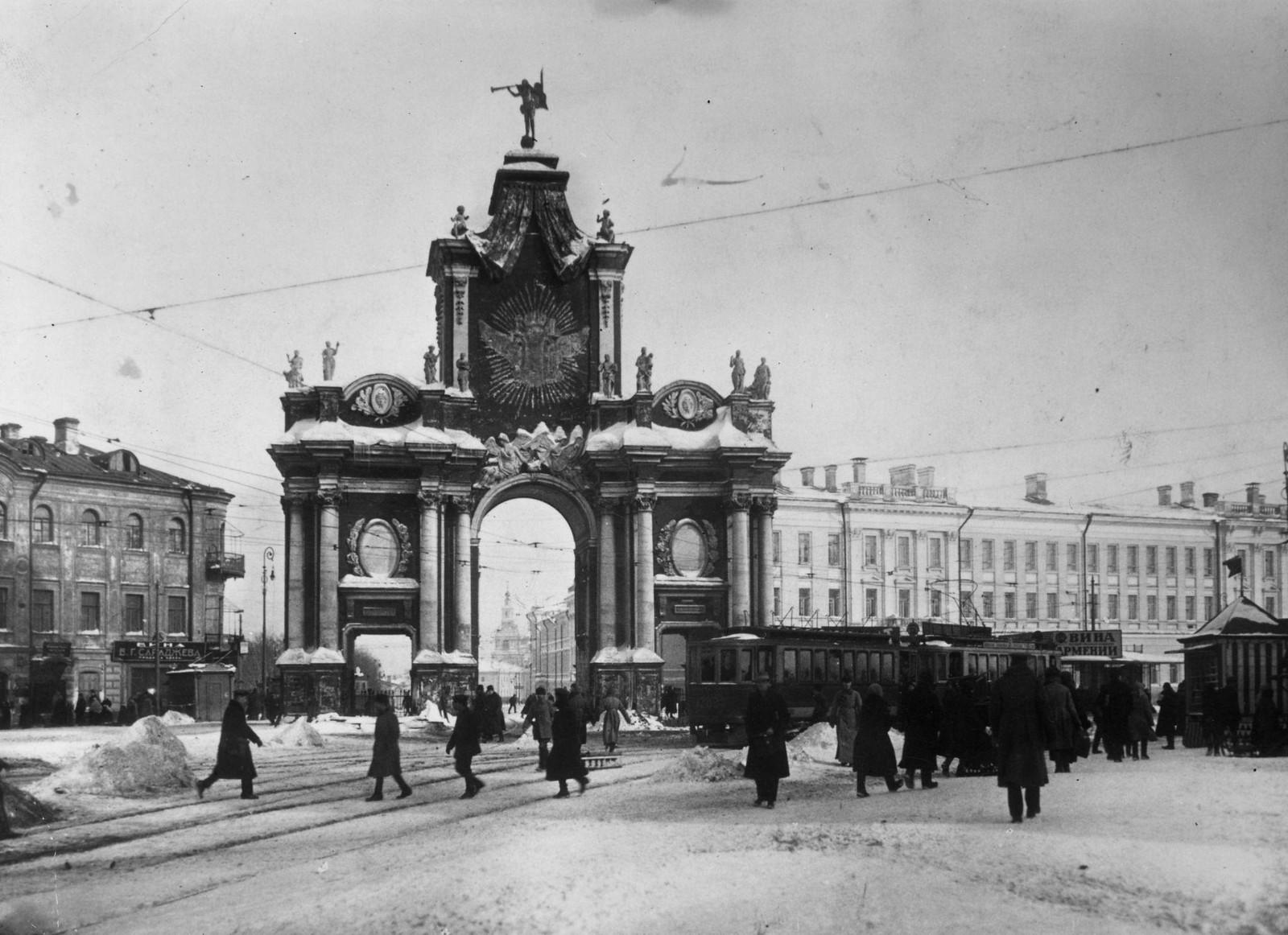Красные ворота. 1890-е