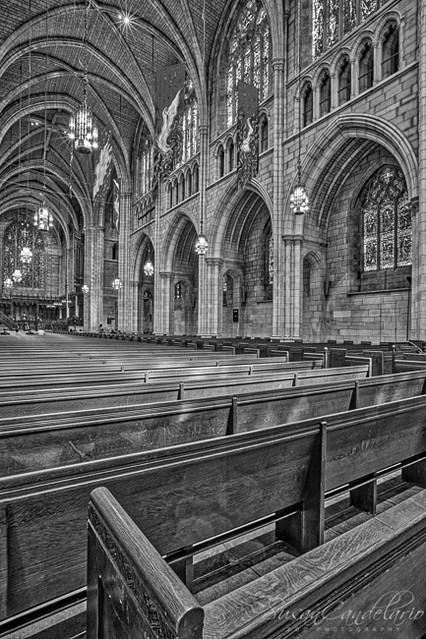 The Chapel At Princeton University BW
