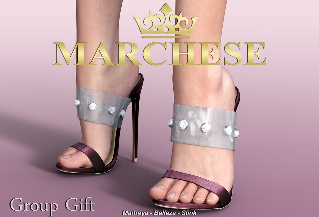 Marchese - Amber High Heels [GIFT] - TeleportHub.com Live!