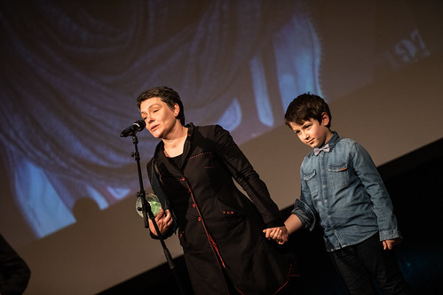 CE19 - awards ceremony // Nadejda Koseva (Winner Audience Award) // photo © Andreas Wörister / subtext.at