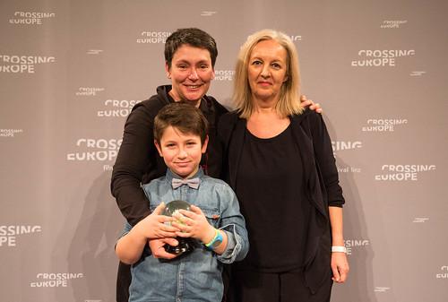 CE19 - Award Ceremony // Nadejda Koseva (Winner Audience Award - Best Fiction FIlm), Christine Dollhofer (Festival Director) // photo © Christoph Thorwartl / subtext.at
