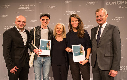 CE19 - Award Ceremony // Almir Balihodzic (Councilman), Special Mention - Fiction Film (Claus Reichel, Rosanne Pel), Christine Dollhofer (Festival Director), Thomas Stelzer (Governor) // photo © Christoph Thorwartl / subtext.at