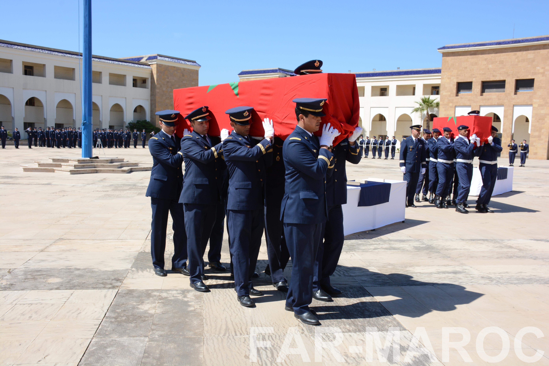Funérailles de feu le lt colonel Najib El Hadrati et du A/C Hassan Tazi 32793871107_8d6979a62e_o