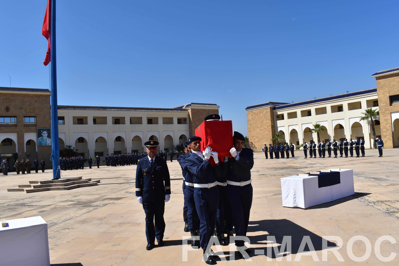 Funérailles de feu le lt colonel Najib El Hadrati et du A/C Hassan Tazi 32793874207_56e6c7b262_o