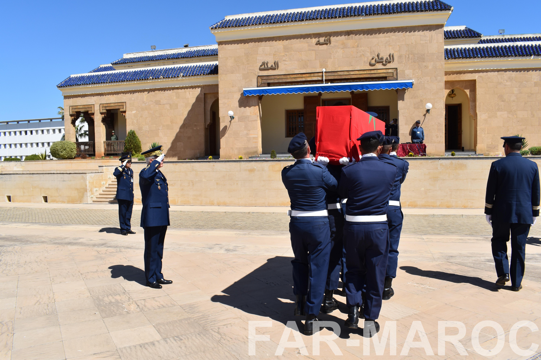 Funérailles de feu le lt colonel Najib El Hadrati et du A/C Hassan Tazi 32793879607_baab87ff90_o