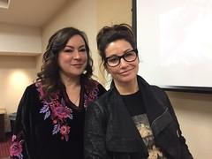 Jennifer Tilly and Gina Gershon at Ebertfest 2019