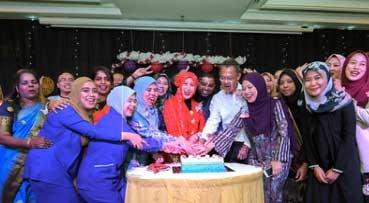 UMSC honours nurses for their dedication