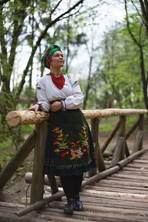 Podilia housekeeper / Подільська господиня   by Curry Hexagon