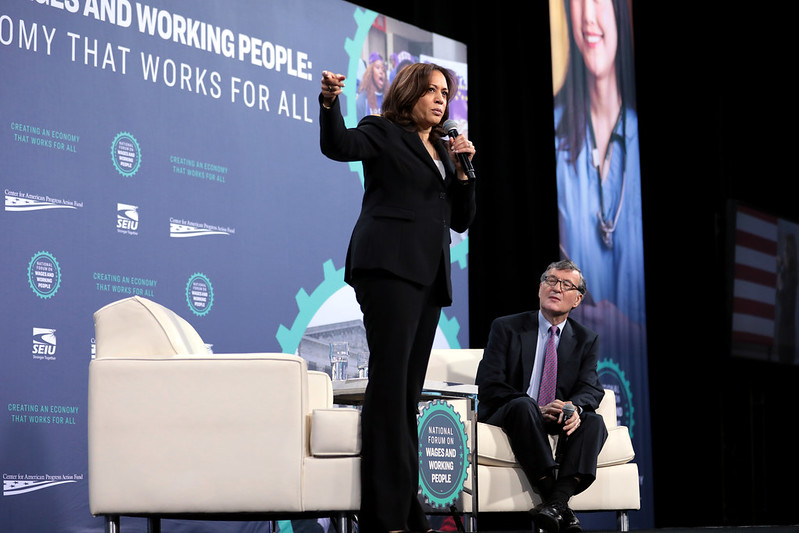 Kamala Harris & Steve Greenhouse