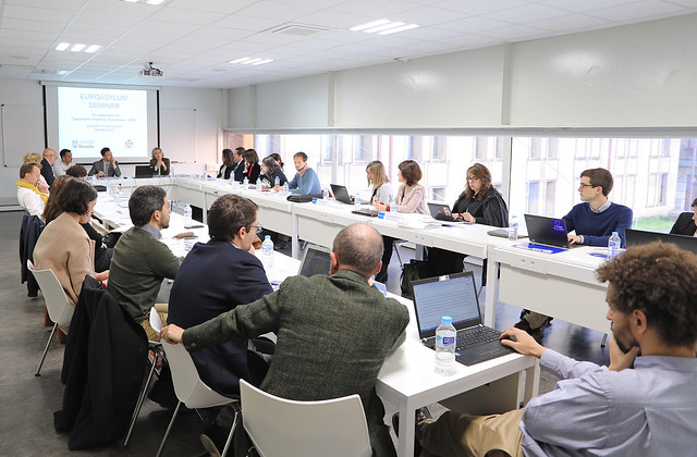 "29/04/2019 - Seminario ""Asylum policies of the European Union: External and internal dimensions"""
