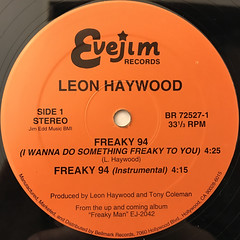 LEON HAYWOOD:FREAKY '94(LABEL SIDE-A)