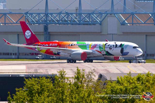 AIRBUS A350-941 (MSN 281)
