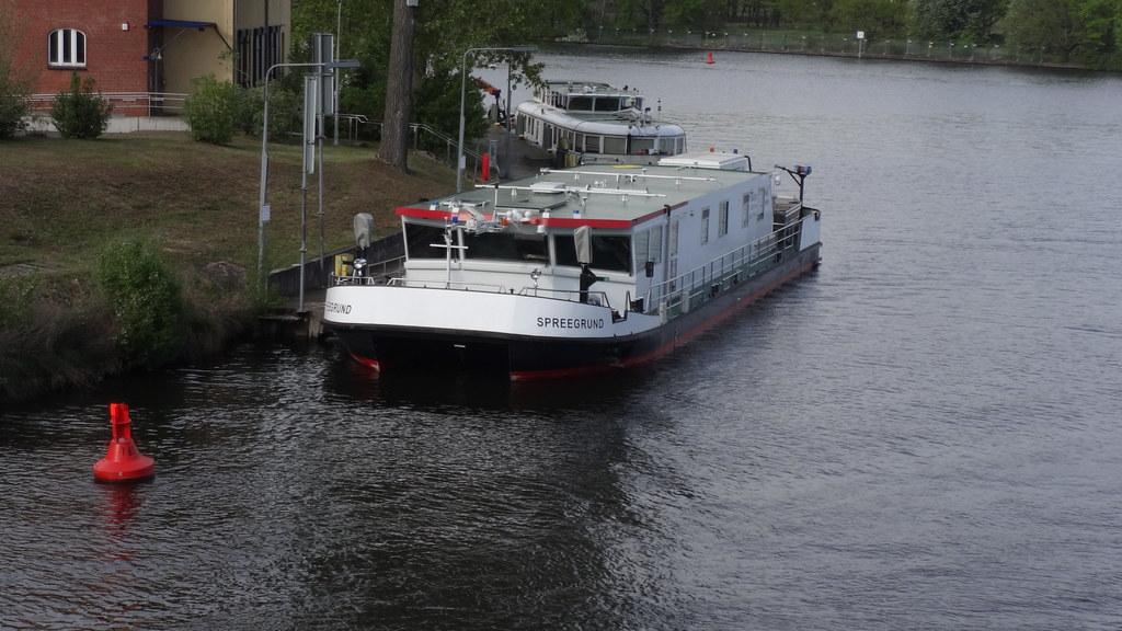 2017 Vermessungs- und Peilschiff MS Spreegrund Bauhof des Wasserstraßen- und Schifffahrtsamtes Berlin Grünauer Straße 213 in 12557 Berlin-Grünau