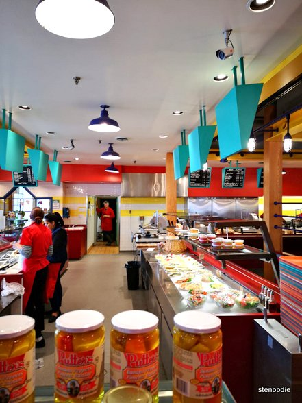 Katz's Deli & Corned Beef Emporium kitchen