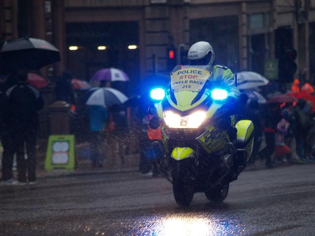 Police Bike J13