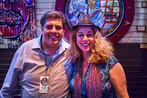 Jorge Fuentes and Wendy at Piano Night - April 29, 2019. Photo by Eli Mergel.