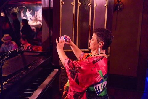 Beth Arroyo Utterback at Piano Night - April 29, 2019. Photo by Eli Mergel.