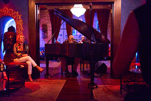Ellis Marsalis at The Byrd's Nest at Piano Night - April 29, 2019. Photo by Eli Mergel.