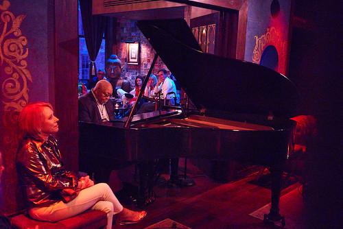 Ellis Marsalis at Piano Night - April 29, 2019. Photo by Eli Mergel.