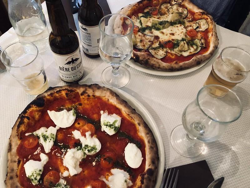 Nizza ravintola pizza paras
