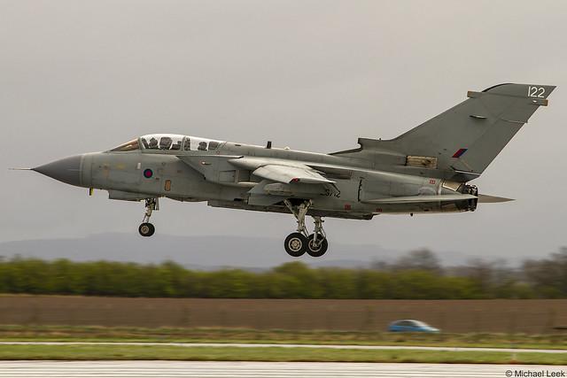 RAF Panavia Tornado GR4 ZG712/122, XV (R) Squadron; RAF Lossiemouth, Moray, Scotland
