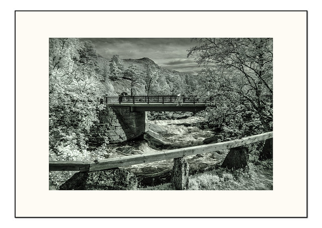 Landscape beauty  -  infrared 03