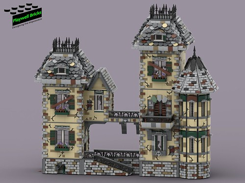 Haunted House - WIP 10 Turret